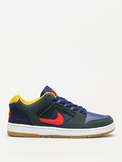 Buty Nike SB Sb Air Force II Low (midnight green/habanero red blue void)