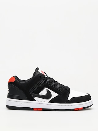 Buty Nike SB Sb Air Force II Low (black/black white habanero red)