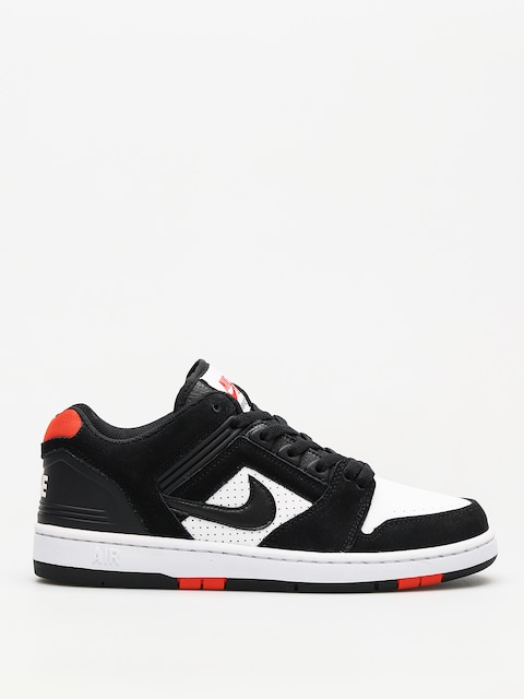 Buty Nike SB Sb Air Force II Low (black/black white habanero red)