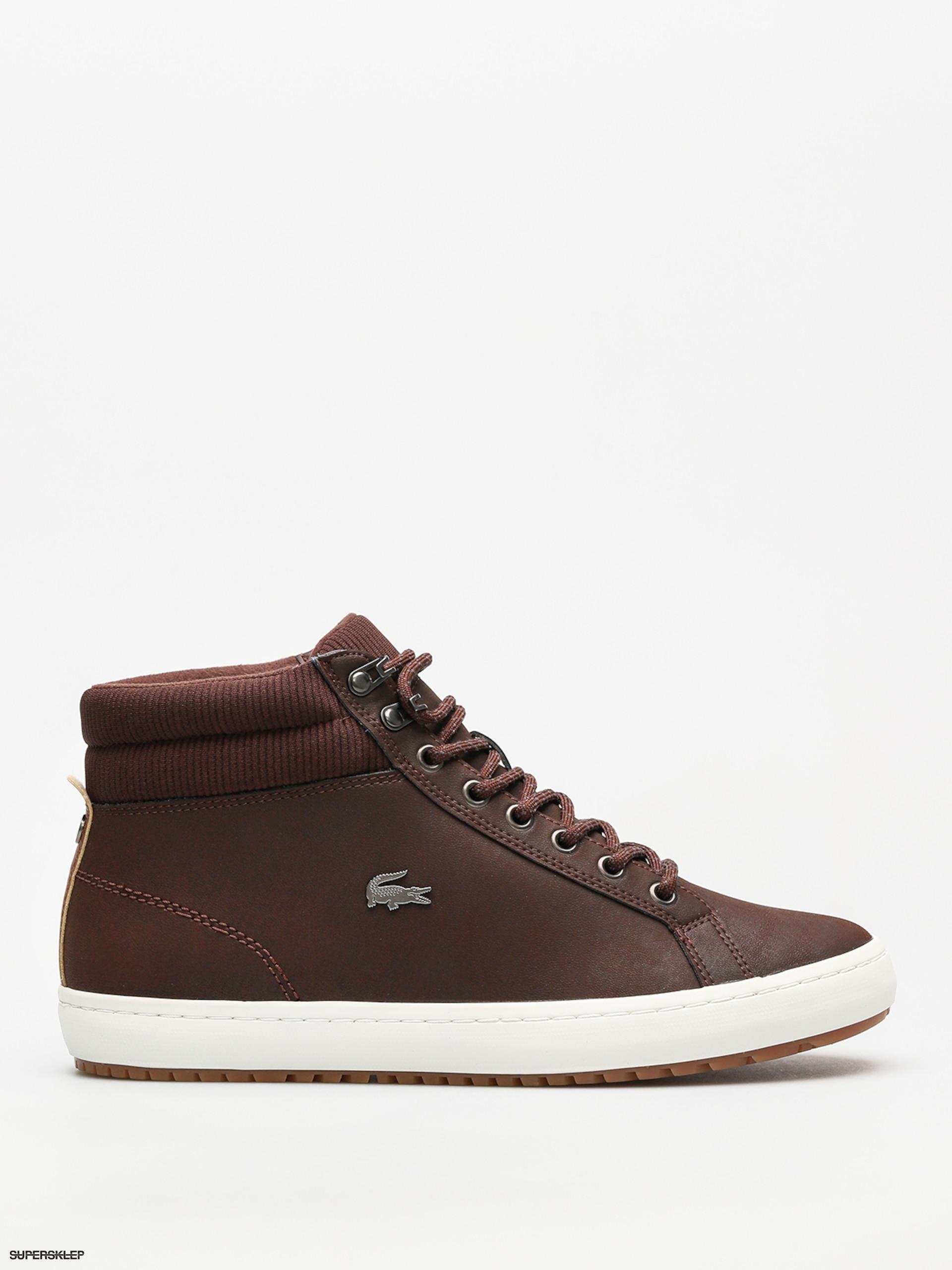 fbddac81d294a Buty Lacoste Straightset Insulac 3181 (dark brown/dark brown)