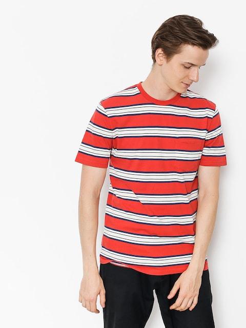 T-shirt Brixton Hilt Wshd Pkt (red)