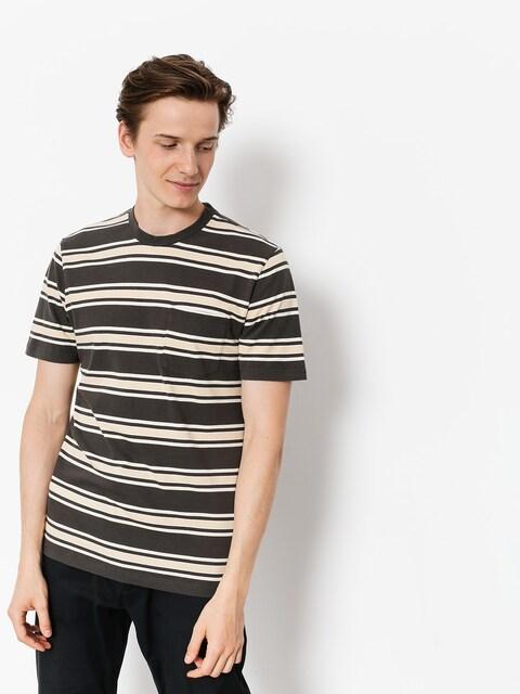T-shirt Brixton Hilt Wshd Pkt (washed black)