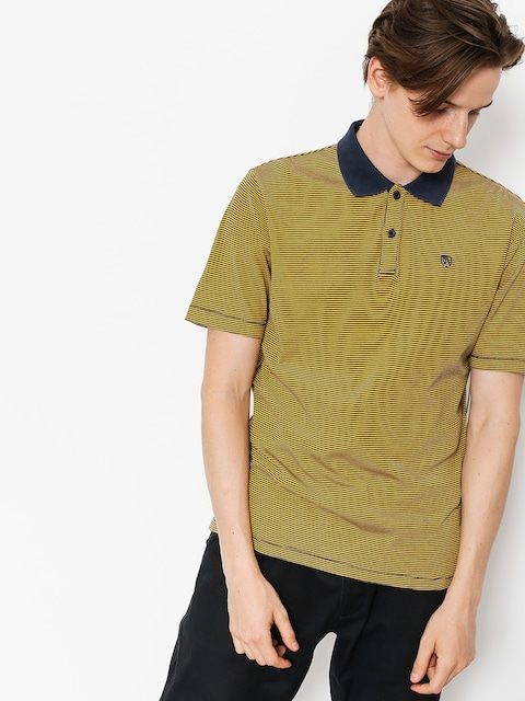 Polo Brixton Johnston (navy gold)