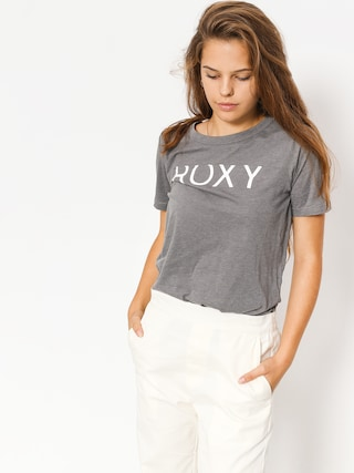 T-shirt Roxy Hello Winter C Wmn (charcoal heather)