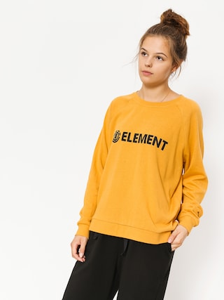 Bluza Element Tree Logo Crew Wmn (gold)