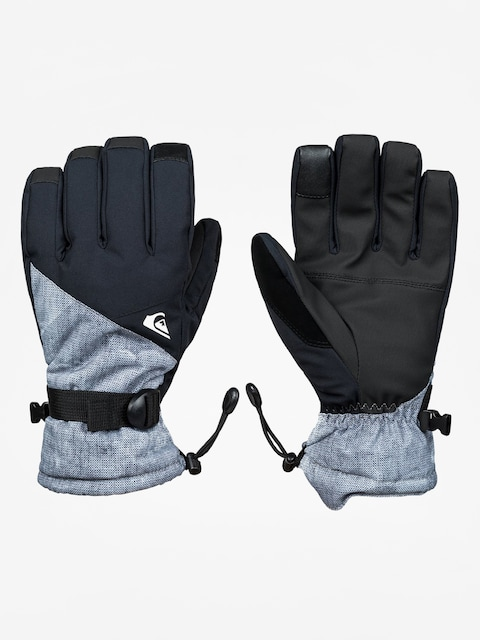 Rękawice Quiksilver Mission Glove (simple texture grey)