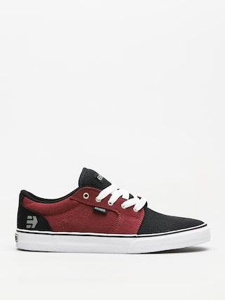 Buty Etnies Barge Ls (black/white/burgundy)
