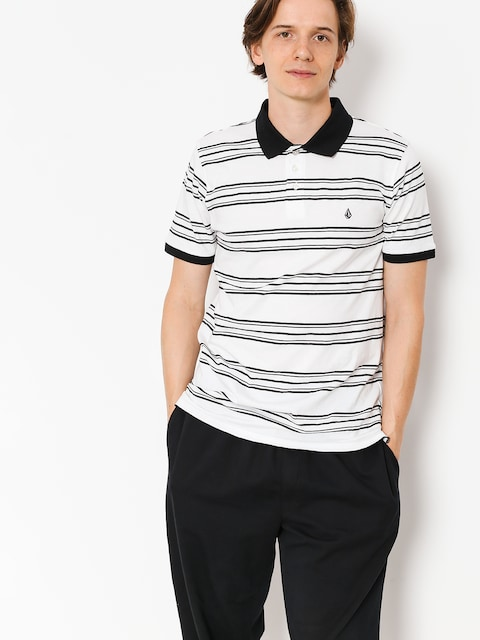 Polo Volcom Wowzer Stripe Polo (wht)