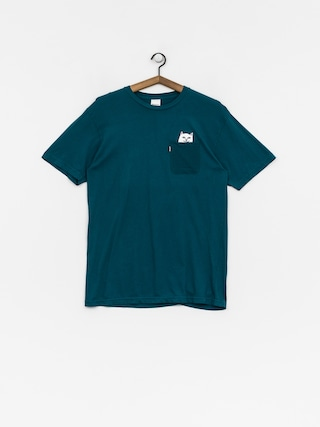 T-shirt RipNDip Lord Nermal Pocket (aqua)