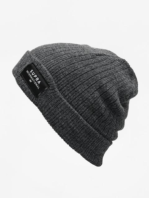 Czapka zimowa Supra Icon Intl Beanie (charcoal/blk/wht)
