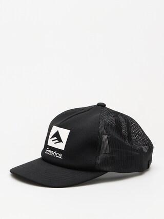 Czapka z daszkiem Emerica Brand Combo Trucker ZD (black)