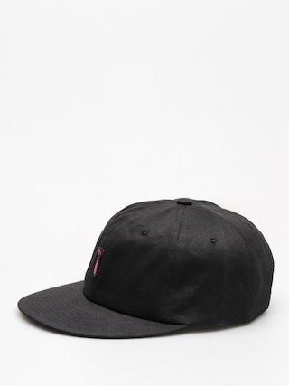 Czapka z daszkiem Diamond Supply Co. Fasten Unstructured 6 Pan Stra ZD (black)