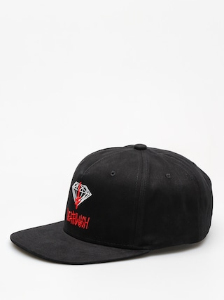 Czapka z daszkiem Diamond Supply Co. Deathwish Sign Strapback ZD (black)