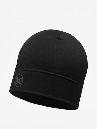 Czapka zimowa Buff Lw Merino Wool (solid black)