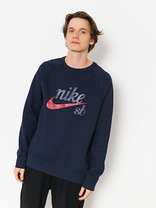 Bluza Nike SB Sb Icon (obsidian/red crush)