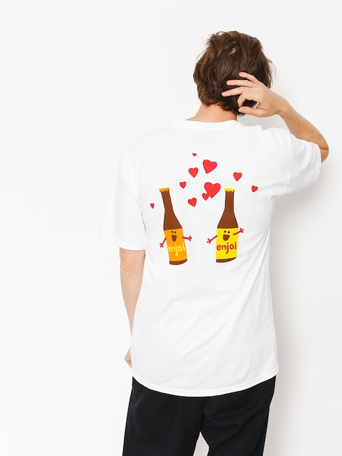 T-shirt Enjoi Smitten Beer (white)