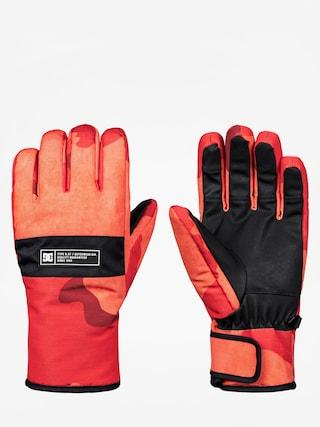 Rękawice DC Franchise Glove (red orange dcu camo)