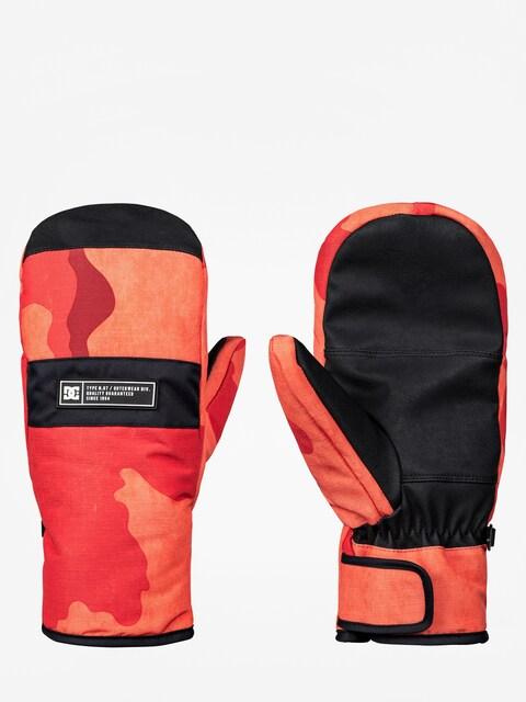 Rękawice DC Franchise Mitt (red orange dcu camo)