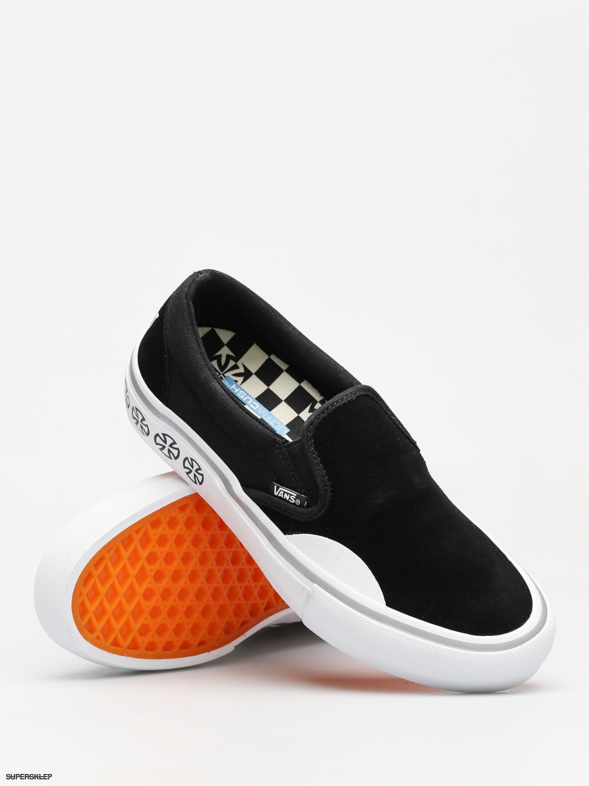 Buty Vans x Independent Slip On Pro (independent blackwhite)