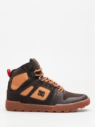 Buty zimowe DC Pure High Top Wr Boot (chocolate brown)