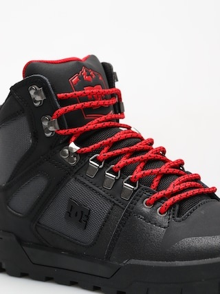 Buty zimowe DC Pure High Top Wr Boot (black/grey/red)