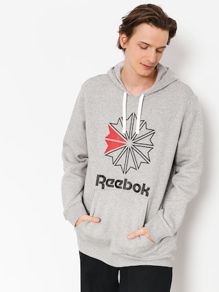 Bluza z kapturem Reebok F Star HD (medium grey heather/black)