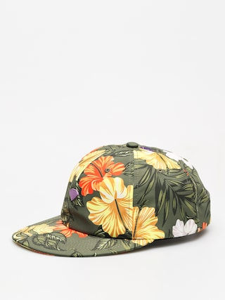 Czapka z daszkiem Diamond Supply Co. Aloha Floral Unstruc 6 Pan Cli ZD (olive)