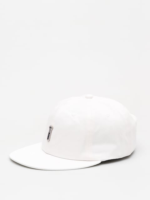 Czapka z daszkiem Diamond Supply Co. Fasten Unstructured 6 Pan Stra ZD (white)