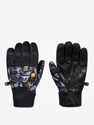 Rękawice Quiksilver Method Glove (a day at mtn glo blk)