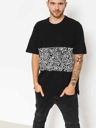 T-shirt Element Kh Big Panel (flint black)