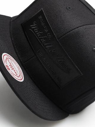 Czapka z daszkiem Mitchell & Ness Logo Mitchell & Ness ZD (blkack/black)