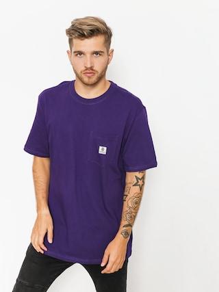 T-shirt Element Basic Pocket Label (purple)