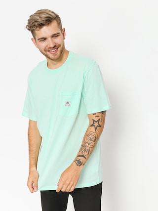 T-shirt Element Basic Pocket Label (brook green)