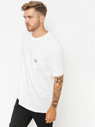 T-shirt Element Basic Pocket Label (optic white)