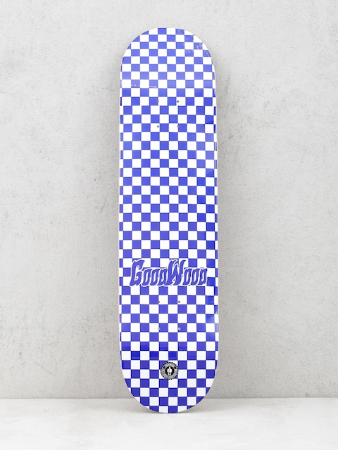 Deck Goodwood Checker (blue/white)
