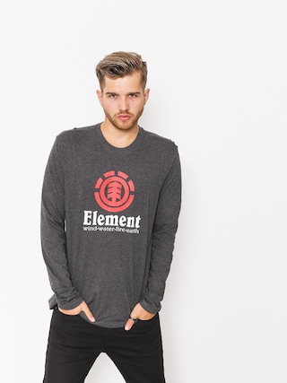 Longsleeve Element Vertical (charcoal heather)