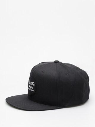 Czapka z daszkiem Brixton Wheeler Snapback ZD (black)