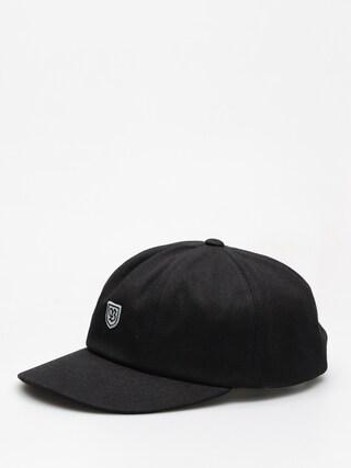 Czapka z daszkiem Brixton B Shield III ZD (black/grey)