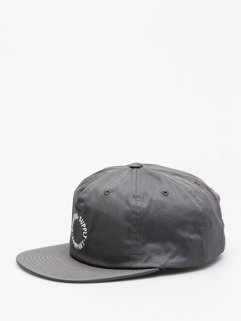 Czapka z daszkiem Brixton Feature Mp Snbk ZD (washed black)
