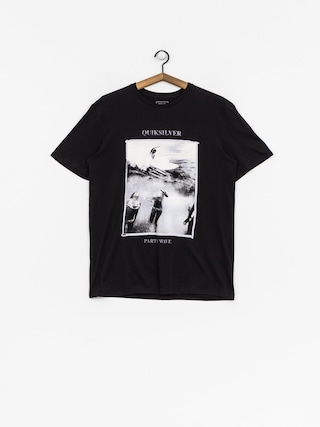 T-shirt Quiksilver Wave Party (black)