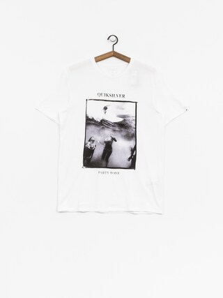 T-shirt Quiksilver Wave Party (white)