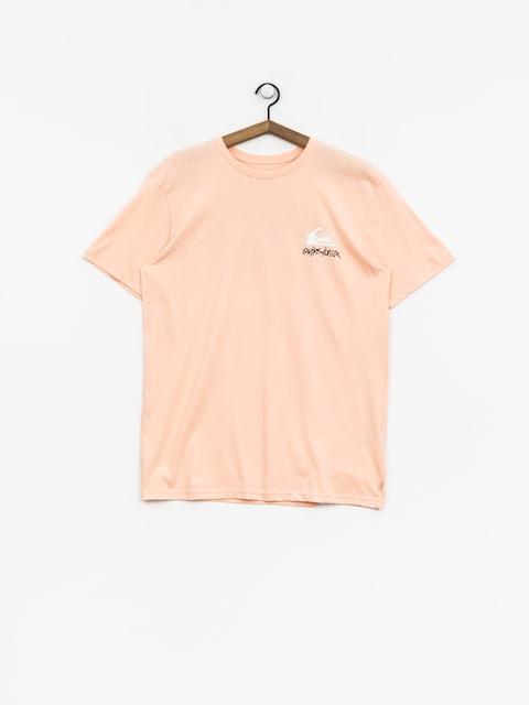 T-shirt Quiksilver Good Badss (peach parfait)