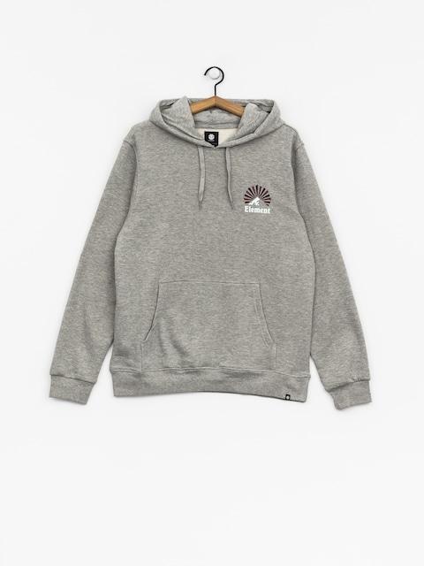 Bluza z kapturem Element Rising HD (grey heather)