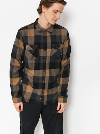Koszula Vans Box Flannel (dirt/black)
