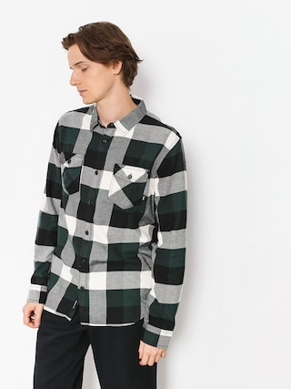 Koszula Vans Box Flannel (darkest spruce/natural)