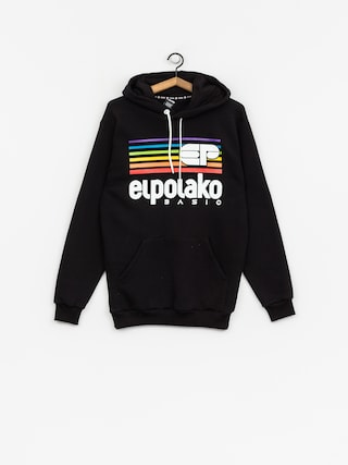 Bluza z kapturem El Polako Rainbow HD (black)