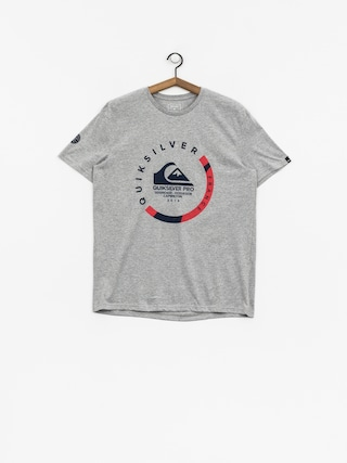 T-shirt Quiksilver Quik Pro Frt 18 (light grey heather)