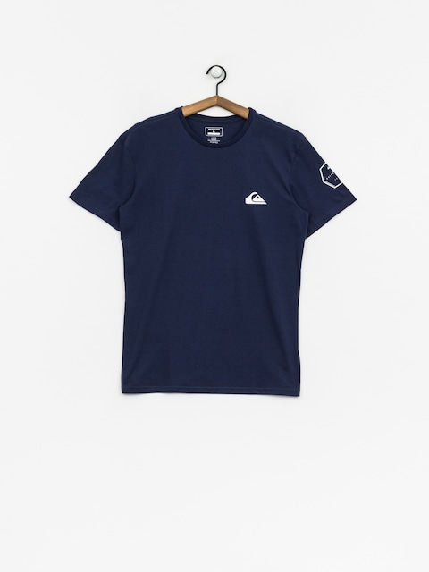 T-shirt Quiksilver Solid Left (medieval blue)