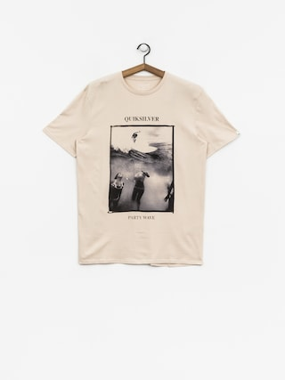 T-shirt Quiksilver Wave Party (oatmeal)