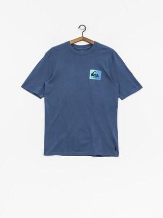 T-shirt Quiksilver Original Clapatc (bijou blue)